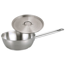 Chef Inox Elite 5.5L Stainless Steel Saute Pan