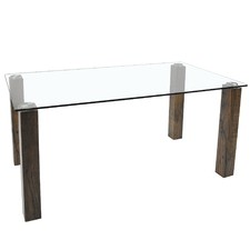 Rectangular Eva Glass Dining Table
