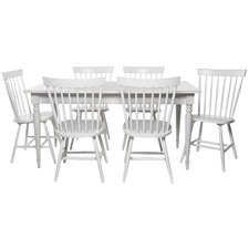 6 Seater Washington Dining Table & Chair Set