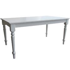 White Washington Dining Table