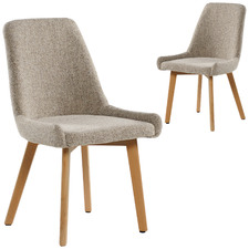 Alexandria Upholstered Dining Chairs (Set of 2)