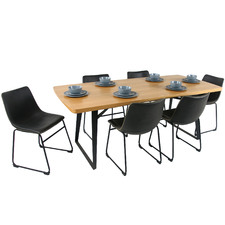 6 Seater Carina Bristol Dining Table & Chairs Set