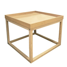Natural Danila Wooden  Side Table