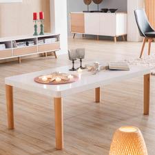 White & Natural Arina Coffee Table
