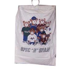 Animal Door Hanging Laundry Bag