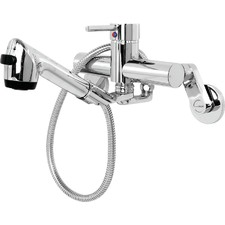 Aroma Freedom Wall Mounted Bath or Laundry Mixer for a Bib System with Male Threads