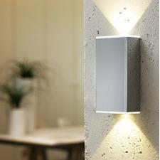 Style Abida 2 Light LED Wall Bracket