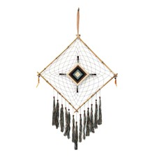 Ahanu Diamond Dreamcatcher with Bamboo Frame