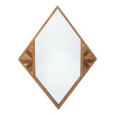 Zen Diamond Wooden Mirror