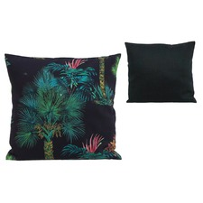 Retro Palm Tree Dark Cushion (Set of 2)