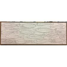 Sail Fish Oil Painting