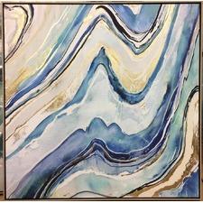 Elision Framed Print