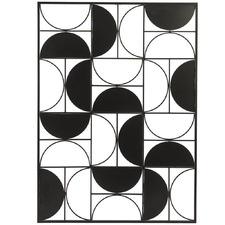Semi-Circle Metal Wall Art