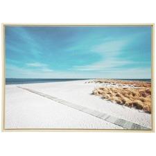 Beach Path Framed Canvas Wall Art