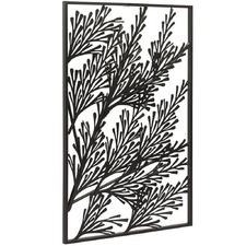 Wisdom Leafy Metal Wall Art