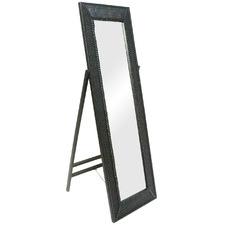 Arch Rattan Full Length Mirror