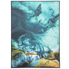 Retro Framed Canvas Wall Art