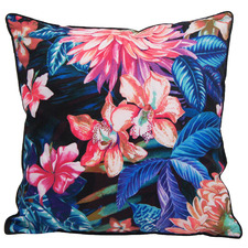 Tropic Flowers Outdoor Cushion