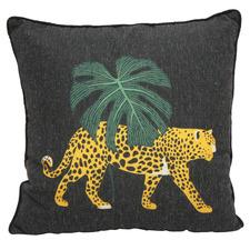 Hiding Jungle Leopard Cushion