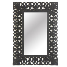 Matte Black Marta Wall Mirror