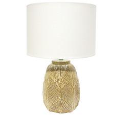 Mustard Pothos Ceramic Table Lamp