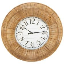 Natural Bonnie Wall Clock