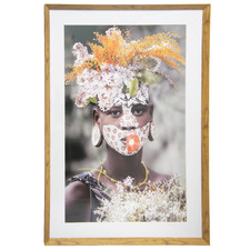 Adorned II Framed Printed Wall Art