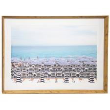 Summer Days Framed Printed Wall Art