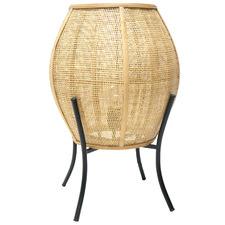 Natural Elume Rattan Table Lamp