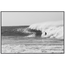 Catching Waves Framed Printed Wall Art