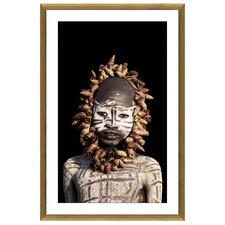 African Boy Framed Printed Wall Art