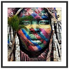 Street Art Framed Printed Wall Art
