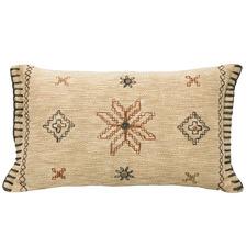 Milli Embroidered Rectangular Cotton Cushion