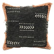 Khathi Olens Embroidered Cotton Cushion