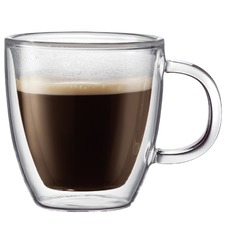 Bodum Bistro Double Wall Espresso Mugs 150ml (Set of 2)