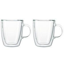 Bodum Bistro 300ml Double Wall Espresso Mugs (Set of 2)