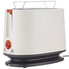 White Bistro 2 Slice Toaster