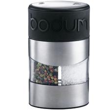 Black Bodum Salt & Pepper Grinder