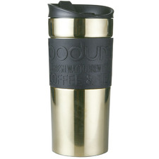 Gold Bodum 350ml Stainless Steel Travel Mug