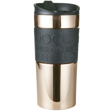 Rose Gold Bodum 350ml Stainless Steel Travel Mug