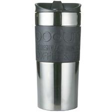 Bodum Silver Stainless Steel Travel Mug 350ml