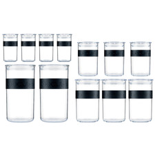 12 Piece Presso Storage Jar Set
