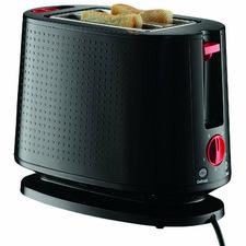 Black Bistro 2 Slice Toaster