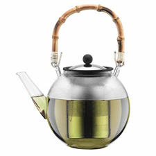 Assam 1L Teapot with Bamboo Handle
