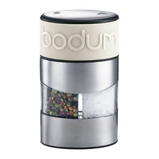 White Bodum Salt & Pepper Grinder