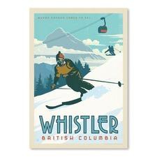 Whistler Printed Wall Art