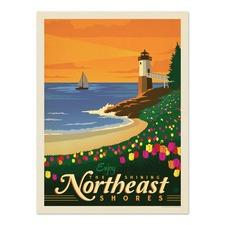 Northeast Shores Printed Wall Art