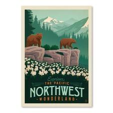 Northwest Wonderland Printed Wall Art