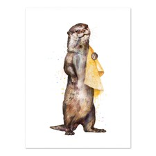 Otter Printed Wall Art
