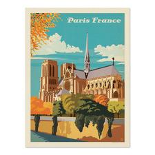 Paris Notre Dame Printed Wall Art